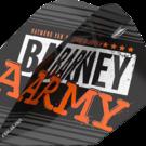 Target Raymond van Barneveld Barney Army Black Pro Ultra Dart Flight Nummer 6 2019 Art.Nr. 540.334320