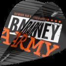 Target Raymond van Barneveld Barney Army Black Pro Ultra Dart Flight Kite 2019 Art.Nr. 540.334340