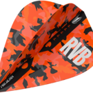 Target Raymond van Barneveld Barney Army Camo Orange Pro Ultra Dart Flight Kite 2019 Art.Nr. 540.334990
