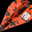 Target Raymond van Barneveld Barney Army Camo Orange Pro Ultra Dart Flight Vapor 2019 Art.Nr. 540.334400