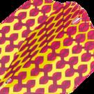 Target Fabric Pro Ultra Dart Flight - Dartflights Design 2020 Nr. 2 Gelb