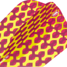 Target Fabric Pro Ultra Dart Flight - Dartflights Design 2020 Ten-X Gelb