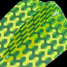 Target Fabric Pro Ultra Dart Flight - Dartflights Design 2020 Nr. 6 Grün