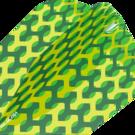 Target Fabric Pro Ultra Dart Flight - Dartflights Design 2020 Ten-X Grün