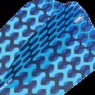 Target Fabric Pro Ultra Dart Flight - Dartflights Design 2020 Nr. 6 Blau
