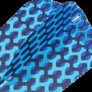 Target Fabric Pro Ultra Dart Flight - Dartflights Design 2020 Ten-X Blau