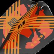 Target Pro Ultra RVB G3 Dart Flight Raymond van Barneveld Dartflights Design 2020 TEN-X