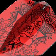 Target INK Pro Ultra Dart Flight - Dartflights Design 2020 Nr. 6 Rot