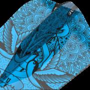 Target INK Pro Ultra Dart Flight - Dartflights Design 2020 Nr. 6 Blau