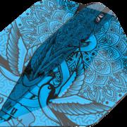 Target INK Pro Ultra Dart Flight - Dartflights Design 2020 Nr. 2 Blau