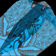 Target INK Pro Ultra Dart Flight - Dartflights Design 2020 Ten-X Blau