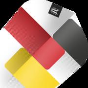 Target Gabriel Clemens German Giant 80% Pro Ultra Dart Flight Nr. 6 Design 2020