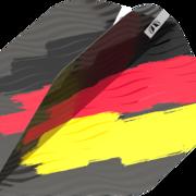 Target Dart Flag Pro Ultra Dart Flight - Dartflights Design 2021 Deutschland Nr. 2 Art.Nr. 540.335740