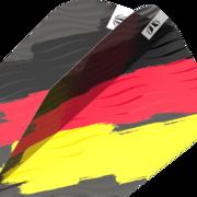 Target Dart Flag Pro Ultra Dart Flight - Dartflights Design 2021 Deutschland Ten-X Art.Nr. 540.335760