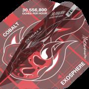 Target Dart Blueprint Pro Ultra Dart Flight - Dartflights Design 2021 Rot Nr. 2