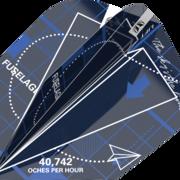 Target Dart Blueprint Pro Ultra Dart Flight - Dartflights Design 2021 Blau Nr. 6