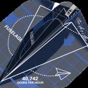 Target Dart Blueprint Pro Ultra Dart Flight - Dartflights Design 2021 Blau Nr. 2