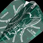 Target Dart Blueprint Pro Ultra Dart Flight - Dartflights Design 2021 Grün Ten-X