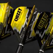 Harrows Steel Darts Dave Chisnall Chizzy 90% Tungsten Steeltip Dart Steeldart Prime Flights 7532