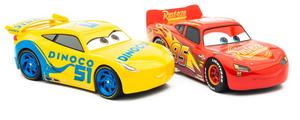 Carrera Digital 132 Disney / Pixar Cars 3 Dinoco Cruz Racing Art.Nr. 30807 und Lightning McQueen Art.Nr. 30806