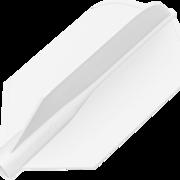 8 Flight Dart Flight Design 2019 Weiß Slim