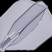 8 Flight Clear Transparent Dart Flights Target Dartflights Design 2020 Candy Black Berry Nr.6