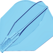 8 Flight Clear Transparent Dart Flights Target Dartflights Design 2020 Candy Soda Nr.6