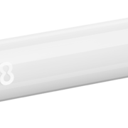 8 Flight Dart Shaft Regular Fixed Design 2019 Weiß IM+ Intermediate Plus