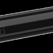 8 Flight Dart Shaft Regular Fixed Design 2019 Schwarz IM+ Intermediate Plus