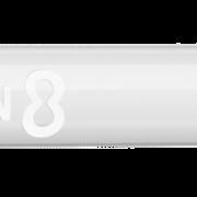 8 Flight Dart Shaft Slim Fixed Design 2020 Weiß M Mittel