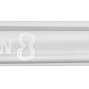 8 Flight Dart Shaft Slim Spin Design 2020 Klar M Mittel