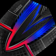 Harrows Fusion Dart Flight Dartflight speziell laminiert Rot