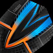 Harrows Fusion Dart Flight Dartflight speziell laminiert Orange