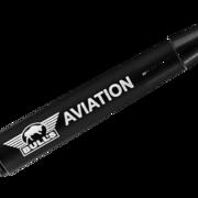 BULL´S NL Aviation Special Aluminium Shaft bedruckt mit Bulls Logo Schwarz Intermediate