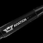 BULL´S NL Aviation Special Aluminium Shaft bedruckt mit Bulls Logo Schwarz Short
