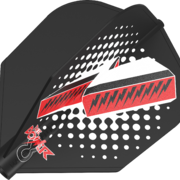 8 Flight Phil Taylor Black Dart Flights Target Dartflights Design 2020 Phil Taylor Nr.6