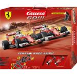 Carrera GO!!! Ferrari Race Spirit Grundpackung / Set Art.Nr. 62453 / Verfügbar im Handel ab KW 26 (25.06. - 29.06.2018)