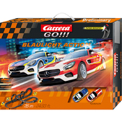 Carrera GO!!! Blaulicht Action Grundpackung / Set Art.Nr. 20062467, 62467
