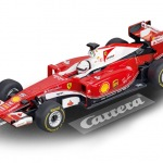Carrera GO!!! / GO!!! Plus Ferrari SF16-H Sebastian Vettel Nr.5 Art.Nr. 64086 / Verfügbar im Handel ab KW 32 (07. - 11.08.2017)