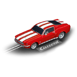 Carrera GO!!! / GO!!! Plus Ford Mustang ´67 Racing Red Art.Nr. 64120 / Verfügbar im Handel ab KW 28 (09.07 - 13.07.2018)