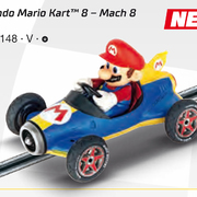 Carrera GO!!! / GO!!! Plus Nintendo Mario Kart 8 Mach 8 Mario Art.Nr. 64148 / 20064148