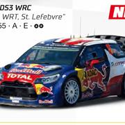 Carrera GO!!! / GO!!! Plus Citroen DS3 WRC Citroen WRT St. Levebvre Art.Nr. 64155 / 20064155
