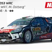Carrera GO!!! / GO!!! Plus Citroen DS3 WRC Citroen WRT M. Ostberg Art.Nr. 64156 / 20064156