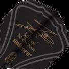 Unicorn Ultra Fly 100 Jeffrey de Zwaan Black Flights verschiedene Designs Neu 2018