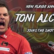 Am 06.06.2019 hat Shot Dart über die Social-Media-Kanäle berichtet: Toni Alcinas The Samurai wird nun von Shot Darts gesponsort.