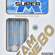 one80 Steel Dart Mario Vandenbogaerde Super M HD 80% Tungsten Steeltip Dart Steeldart 2021 22 g