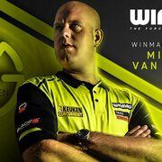 Winmau 2020 Dart Collection Launch 03.01.2020 Winmau Dart News Neuheiten 2020 Michael van Gerwen bei Winmau unter Vertrag -  MVG Darts, MVG Dartboard, MVG Darttasche, MVG Surround