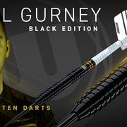 Winmau Steel Darts Daryl Gurney Black Special Edition 90% Tungsten Steeltip Dart Steeldart 2020 23g - 25g