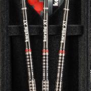Karella Steel Darts SuperDrive schwarz 90% Tungsten Steeltip Darts Steeldart 2020 22-24 g