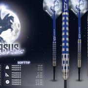Bulls NL 2020 Dart Collection Launch Blue Pegasus Darts